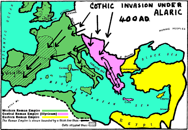 The Great Migration Of Peoples Which Swept Away Old Europe Together With The Rome Empire Was Not Just A Military Conquest It Really Reminds Us Of The